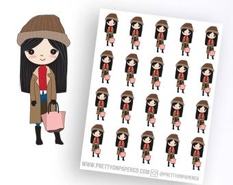 Poppy About Town- Pretty on Paper Co Planner Stickers
