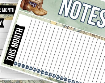 Wanderer Notes Pages Kit - Planner Stickers
