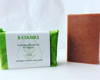 Australian Pink Clay Soap Bar
