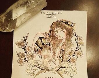 2016 Inktober [ZODIAC ORIGINAL] - XXX Aquarius