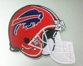 holiday sale buffalo bills helmet iron on patch 3 14 x 2 7 - Buffalo Bills Helmet Coloring Page