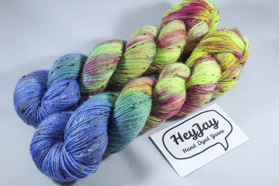 Donegal Tweed Sock Yarn - BFL - Ringleader