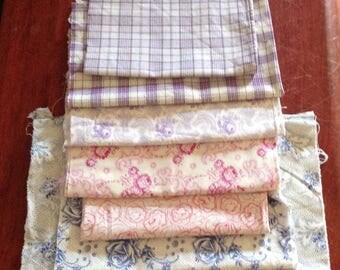 Vintage German Fabric Remnants