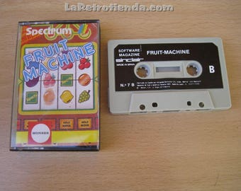 computer game sinclair ZX SPECTRUM - Fruit Machine vintage