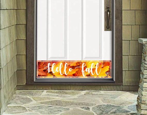 Door Kick Plate Magnetic Exterior Door Kick Plate Hello