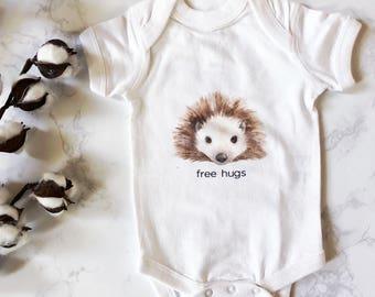 Free Hugs Porcupine Onesie