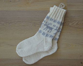 100% Natural Wool Socks (EU 44/US 10.5)