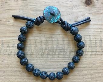 Men's Root to Rise Mala Bracelet