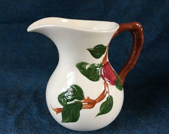 Vintage Franciscan Apple Milk Pitcher