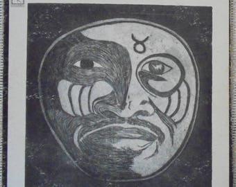 "Taj Mahal "" Natch'l Blues"" Vintage Blues LP Record Album on Vinyl"