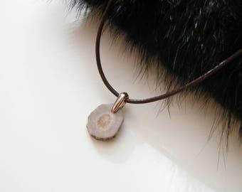 Deer antler necklace, antler pendant necklace, rustic necklace, boho necklace, organic necklace