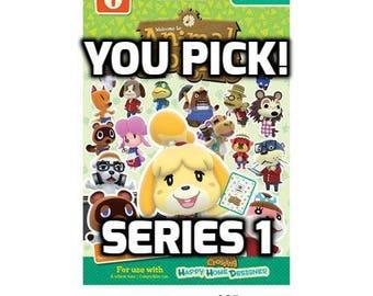 Individual Animal Crossing Amiibo Cards - Series 1 (1-50)