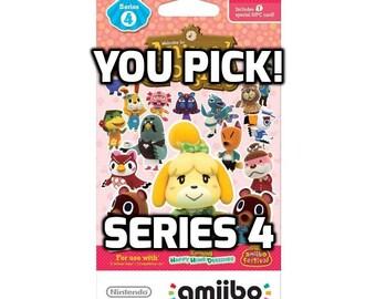 Individual Animal Crossing Amiibo Cards - Series 4 (351-400)