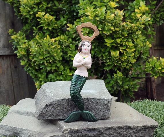 Mermaid Bottle Opener-Bottle Opener-Man Cave-Collectible Bottle Opener-Nautical Theme-Shore House Decor-Mermaid Decor-Mythological Decor