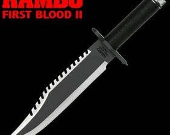 RAMBO - First Blood part 2 - Knife replica 1:1 scale