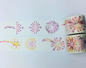Star burst washi tape