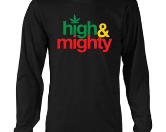 High and Might long sleeved T-shirt RLW224