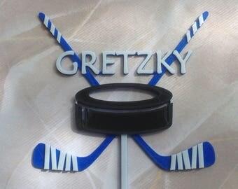 Custom Hockey Cake Topper