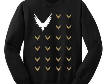 Logan Paul Logang kids sweatshirt crewneck be a maverick