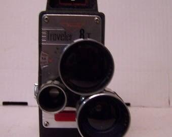 Rondo Traveler 8T Movie Camera, Vintage Camera