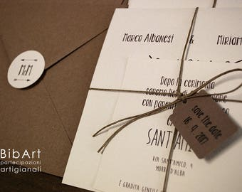 70 pieces full shareholdings-participation invitation wedding Country