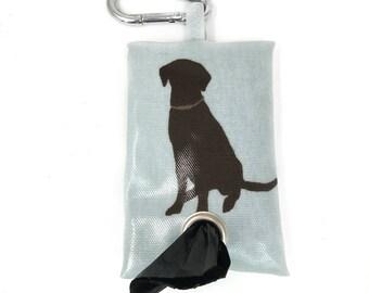 Labraodr Poo Bag - Labrador Poo Bag Holder - Poop Bag Holder - Dog Poo Bag Dispenser - Poo Bag Holder - Dog Poo Bag Holder - Poop Bag - Dog