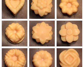 Guest Soap, Flower Designed Soap, Small Soaps, Small Flower Soap, Mini Soaps, Miniature Soap, Guest Size Soap, Guest-Sized Travel Soaps