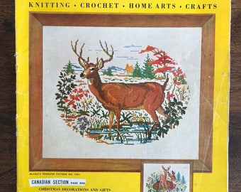 McCalls Needlework and Crafts Magazine, Fall - Winter, 1955-1956, Vintage