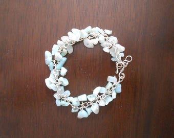 Quartz Chunk Bracelet