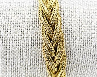 Vintage Erwin Pearl Braided Bracelet