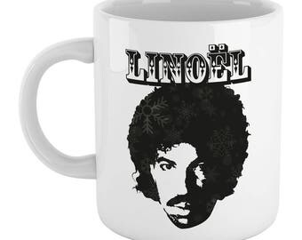 Linoel Richtea Mug - Funny Festive Xmas Lionel Richie Mug  (High Quality - Exclusive Gift)