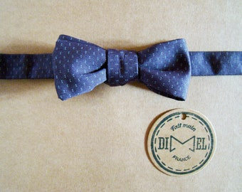 Bow tie adjustable plum to order