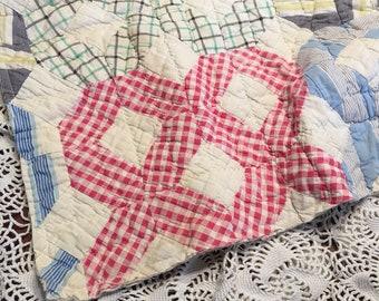 Diamond Quilt Layer/ Photo Prop Quilt Piece/ Cutter Quilt Piece