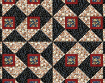 Berry Squares quilt pattern BL114