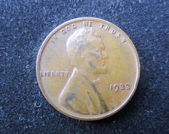 1933 Lincoln Cent