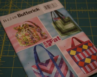 Fat Quarter Bags - Butterick 4248 NIP (out of print)