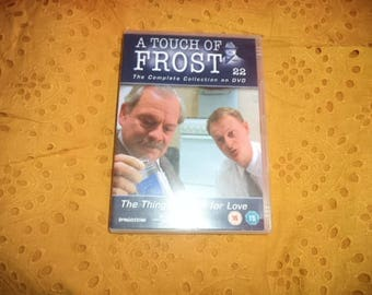 Dvd A touch of frost. (The things we do for love).