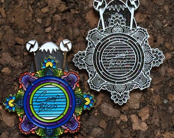 Camp Bisco Mandala Hat Pin *Free Shipping*