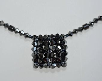 "Swarovski Crystal Heart Necklace 2x ""Simplicity"""
