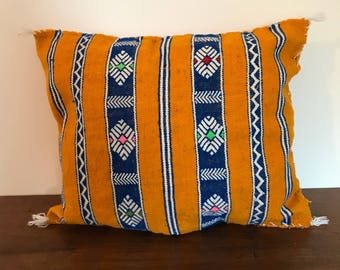 Vintage berber pillow cover