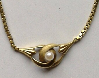 1950S ROLLED GOLD GERMAN necklace