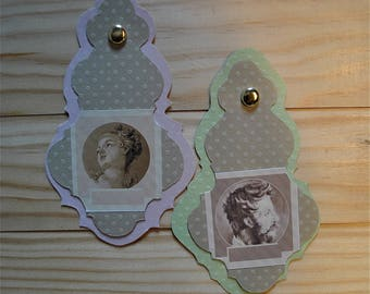 Tags for gifts or tags (place card) for your guests.