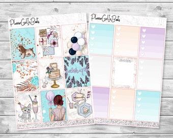 celebrate planner sticker kit
