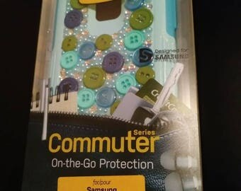 NEW Otterbox Commuter Samsung Galaxy Note 4 Case Aqua Sky