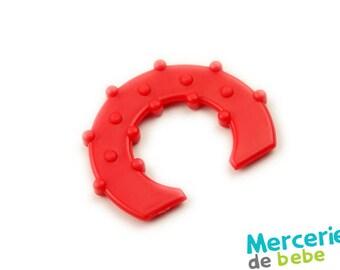 Decorative red - shape semicircle - C32 - R5 element