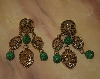 Vintage Guy LAROCHE earrings