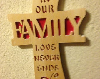 563-Cross - Curved - Family