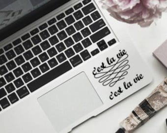 C'est La Vie - Laptop Decal - Car Decal - Sticker