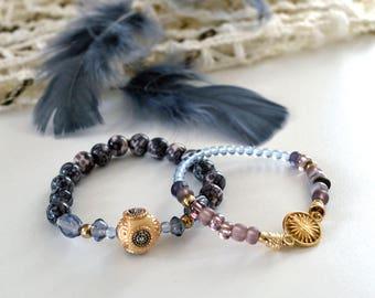 Pair of Golden bracelets