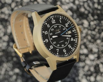 POLJOT. Shturmanskie.Russian watch. Mechanical watch. Mens Watch.poljot.Russian watches